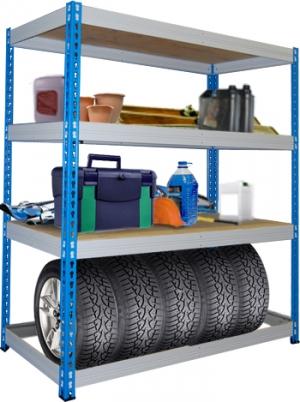 Стеллаж металлический складской 15504-2,0 купить на выгодных условиях в Пензе