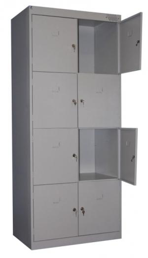 Шкаф металлический для сумок ШРК-28-600